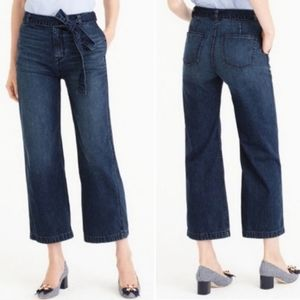 NWOT J. Crew high rise Rayner wide leg jeans